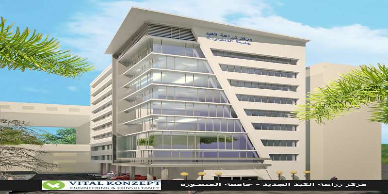 Specialized Liver Transplant Center in Mansoura